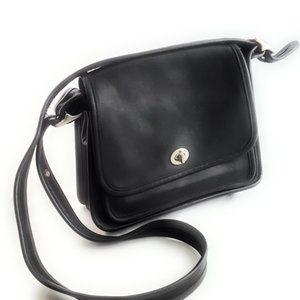 Coach vintage black 9061 Rambler leather Purse